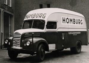 Vrachtwagen van Homburg
