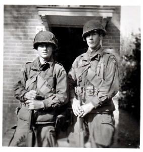 Invasie en bevrijdingsfoto's september 1944 Amerikaanse parachutisten
