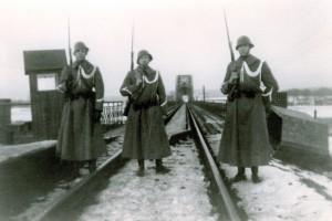 Katwijk Mobilisatie 1940 Links Pieter L. Kloet