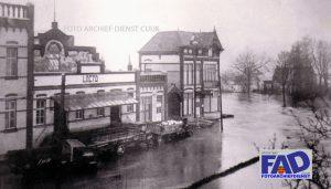 Dijkdoorbraak bij Nutricia in 1926.